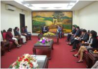 Chairman of ADDA Denmark visiting Vietnam
