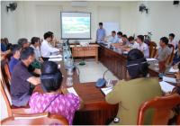 Tập huấn kỹ năng cho nhóm nông dân thích ứng biến đổi khí hậu