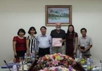 Ông Ove Gejl Christensen làm việc với HND Việt nam