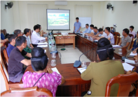 Training on developing smart agricultural initiatives and finance management for FRG