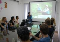 A visit to ADDA Vietnam office of a Danish high school class