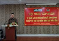 Tập huấn kỹ năng lập kế hoạch sản xuất kinh doanh cho nông dân