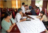 Hội nghị tập huấn kỹ năng viết đề xuất và quản lý vốn tài trợ nhỏ cho nhóm nông dân